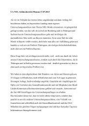 UA NSU, Abschlussbericht Plenum 17 - SPD Fraktion im ...