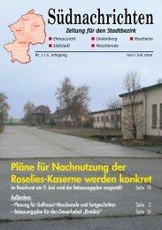 Ausgabe 2009-2 ohne Werbung - SPD-Braunschweig Süd-Ost ...