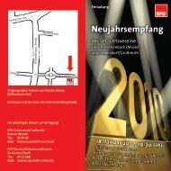 Neujahrsempfang 2010 - SPD Nürnberg
