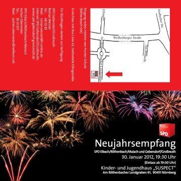 Neujahrsempfang 2012 - SPD Nürnberg