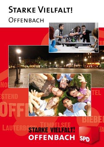 Flyer: Starke Vielfalt! - SPD Offenbach