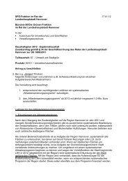 Altlastensanierungsprogramm - SPD-Ratsfraktion Hannover