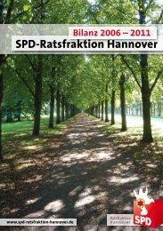 Bilanz 2006 - 2011 - SPD-Ratsfraktion Hannover