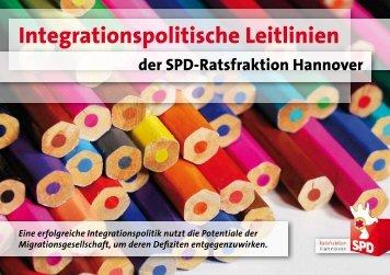Integrationspolitische Leitlinien der SPD-Ratsfraktion Hannover