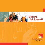 Bildung ist Zukunft - SPD-Ratsfraktion Hannover