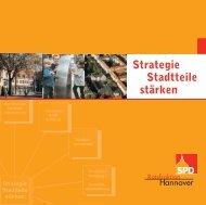 Strategie Stadtteile stärken - SPD-Ratsfraktion Hannover