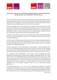 """Seite 1 von 3 Bewertung der """"Eckpunkte für eine Reform ... - SPD Saar"""