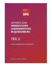 Antragsbuch Teil 2 - SPD-Landesverband Sachsen-Anhalt
