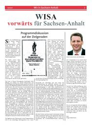 Vorwaerts Sept_07.indd - SPD-Landesverband Sachsen-Anhalt