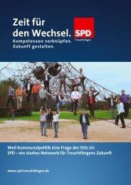 Zeit für den Wechsel. - SPD-Treuchtlingen