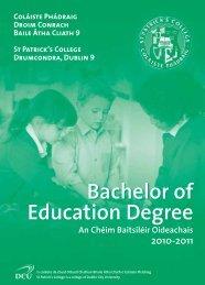 + 353 1 884 2000 (Main Reception) - St. Patrick's College - DCU