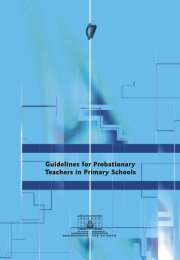 Guidelines for Probationary Teachers in Primary Schools - National ...