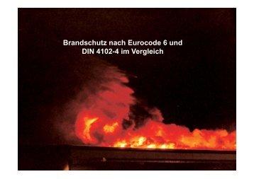 Brandschutz nach Eurocode 6 und DIN 4102-4 im Vergleich