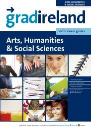 Careers for Arts, Humanities and Social Science Graduates