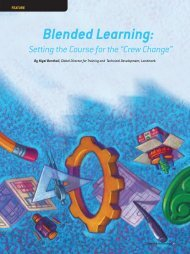 Blended Learning: - Society of Petroleum Engineers