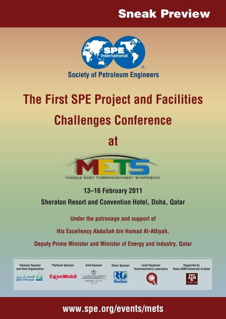 Conference Preview - Society of Petroleum Engineers