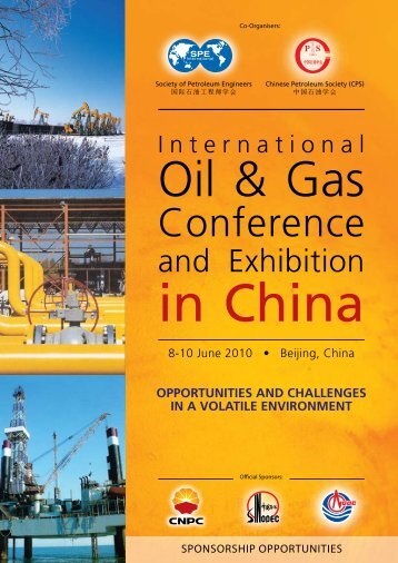 CONFERENCE PROGRAMME - Society of Petroleum Engineers