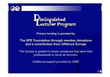 Presentation DL - Otto USA - Society of Petroleum Engineers