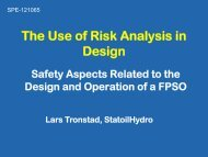The Use of Risk Analysis in Design