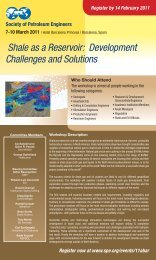 Shale as a Reservoir: Development Challenges and Solutions