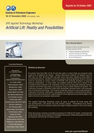 Artificial Lift: Reality and Possibilities - Society of Petroleum Engineers