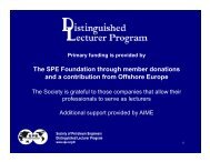 E&P Applications of Fiber-Optic Technologies - Society of Petroleum ...