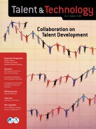 Collaboration on Talent Development - Society of Petroleum ...