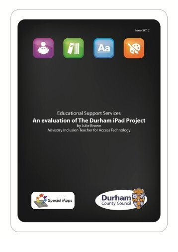 An evaluation of the Durham iPad Project - Smart Inclusion Home