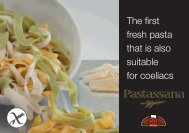 The first fresh pasta that is also suitable for coeliacs - Speciality ...