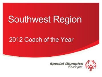 Southwest Region - Special Olympics Washington