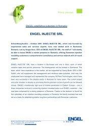 engel injectie srl - Engel Austria