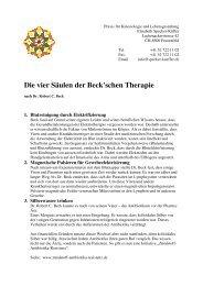 Vier Säulen der Beck Th - specker-kueffer