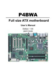 P4BWA Full size ATX motherboard