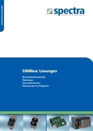 CANbus Lösungen - Spectra Computersysteme GmbH