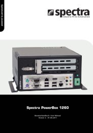 Spectra PowerBox 1260 - Spectra Computersysteme GmbH