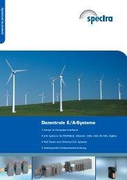 Dezentrale E/A-Systeme - Spectra Computersysteme GmbH