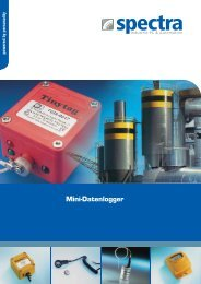 Broschüre Mini-Datenlogger - Spectra Computersysteme GmbH