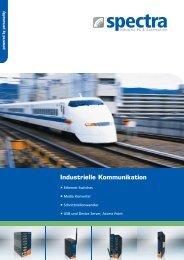 Industrielle Kommunikation - Spectra (Schweiz) AG