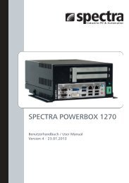 SPECTRA POWERBOX 1270 - Spectra Computersysteme GmbH