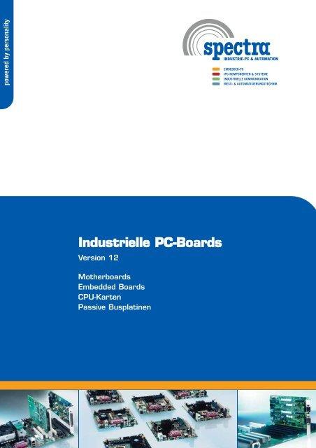 Industrielle PC-Boards - Spectra (Schweiz)