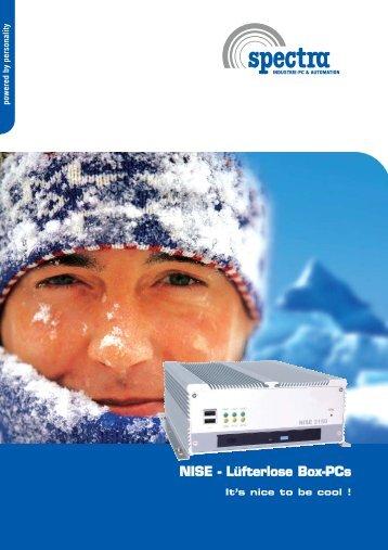 NISE - Lüfterlose Box-PCs