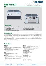 NISE 3110P2E - Spectra Computersysteme GmbH