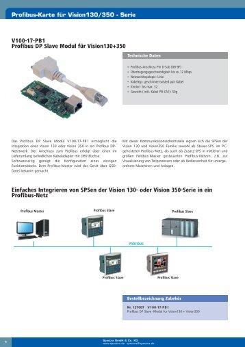 V100-17-PB1 Profibus DP Slave Modul für Vision130+350 ...