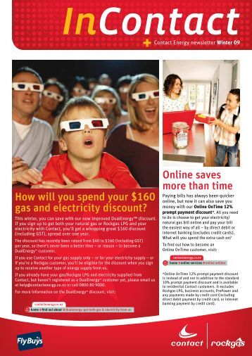How will you spend your $160 gas and electricity discount? Online ...