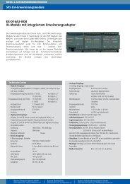 EX-D16A3-RO8 XL-Module mit integriertem Erweiterungsadapter