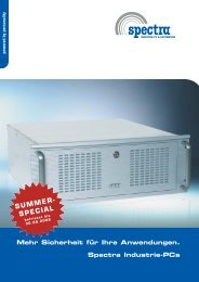 SUMMER- SPECIAL - Spectra Computersysteme GmbH
