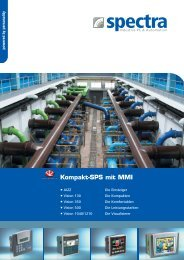 Kompakt-SPS mit MMI - Spectra Computersysteme GmbH