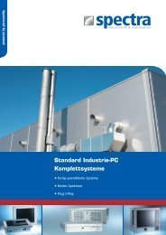 Standard Industrie-PC Komplettsysteme - Spectra Computersysteme ...