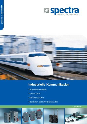 Industrielle Kommunikation - Spectra Computersysteme GmbH