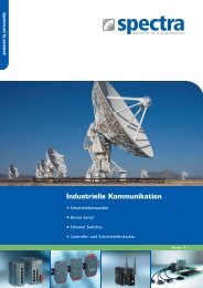 Industrielle Kommunikation - Spectra Computersysteme GmbH